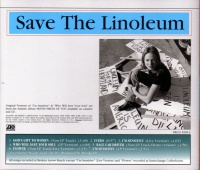Save the Linoleum (Back Cover)